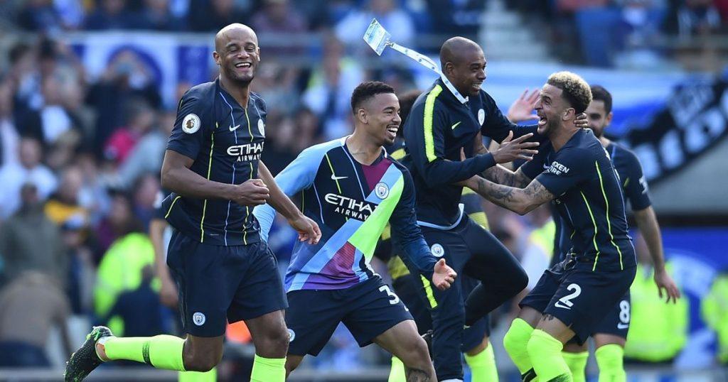 Bantai Brighton 4-1, Manchester City Sah Juarai Premier League 2018/19