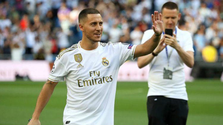 Janji Eden Hazard di Debutnya Bermain Bersama Real Madrid