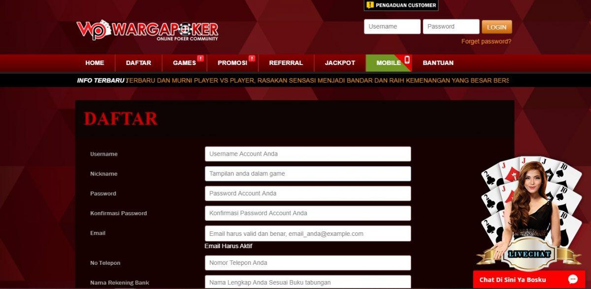Daftar IDN Poker Di Wargapoker Raih Kemenangan Dengan Mudah