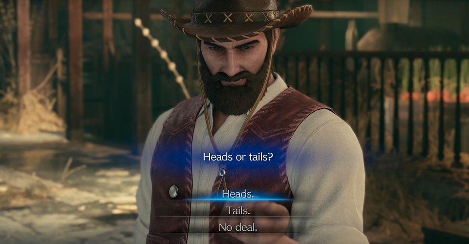 Apakah Kamu Harus Memilih Kepala Atau Ekor Atau No Deal Di Final Fantasy 7 Remake