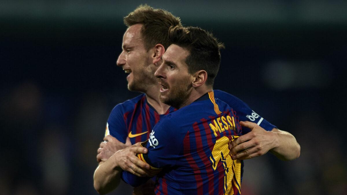 Nasihat Dari Ivan Rakitic Untuk Lionnel Messi